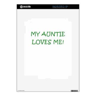 My Auntie Loves Me iPad 2 Decals