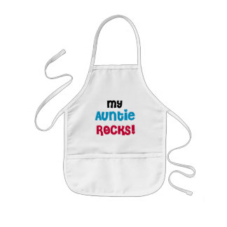 My Auntie Rocks Tshirts and Gifts Kids' Apron