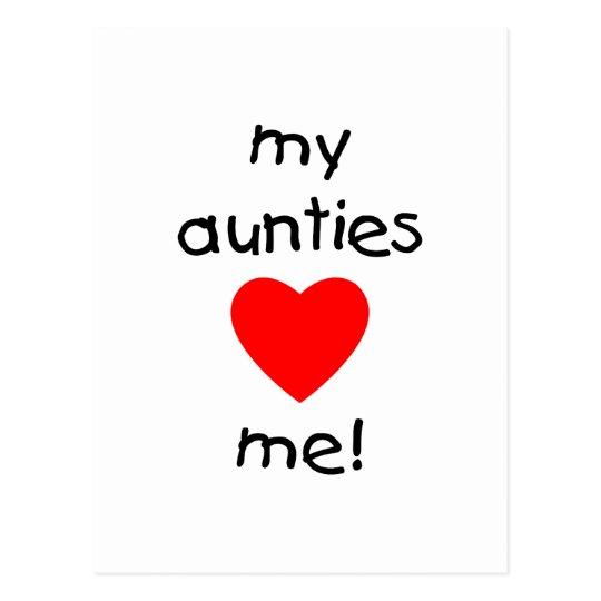 My Aunties Love Me Postcard