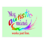 My Autistic Mind Postcards