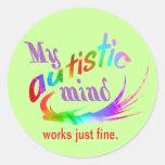 My Autistic Mind Stickers