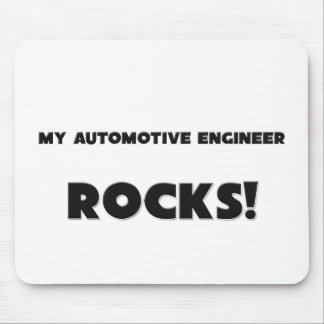 MY Automotive Engineer ROCKS! Mouse Mats