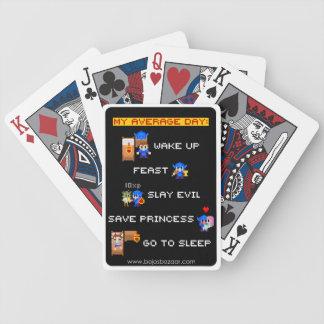 My Average Day (8-bit RPG) Bicycle Playing Cards