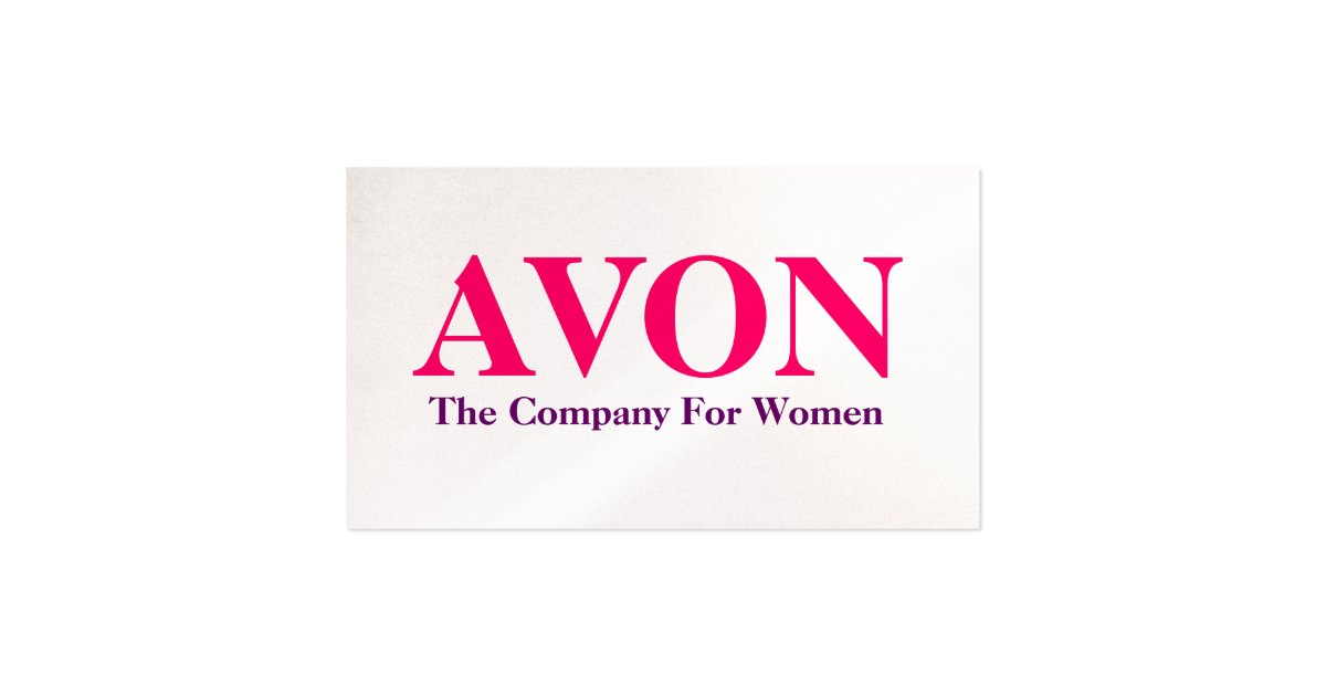 My AVON Business Cards
