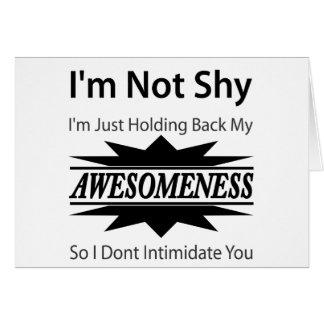 My Awesomeness! Card