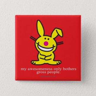 My Awesomeness Pinback Button