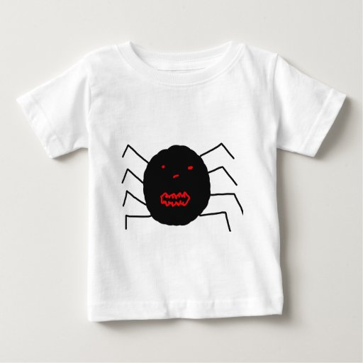 My Awful Drawing of a Spider, Grown ups bad art Baby T-Shirt