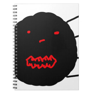 My Awful Drawing of a Spider, Grown ups bad art Spiral Notebook