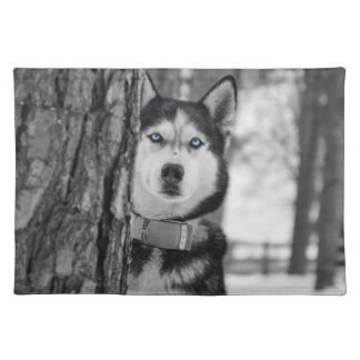 My Baby Blue Eyes Cloth Placemat