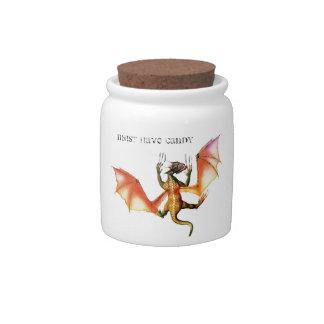My baby Dragon Candy Jar