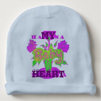 My Baby Heart Hakuna Matata Rabbit Rib Infant Hat