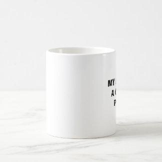 MY BABY IS A CHICHI PUCHI CLASSIC WHITE COFFEE MUG