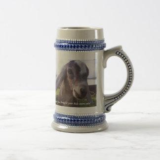 My baby is a nubian dairy goat...mug beer stein