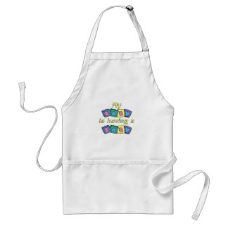 My Baby Is Having A Baby Adult Apron
