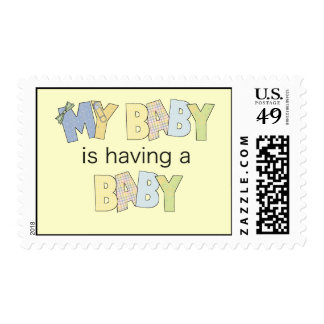 My Baby is Having A Baby Stamps