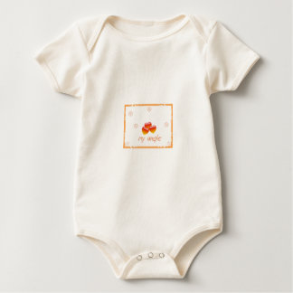 My baby my angle Infant Long SleeveT-Shirt Baby Bodysuit