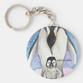 My baby penguin, patricia's studio keychain