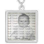 My Baby Photo and Name Necklace