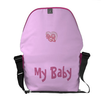 My Baby Rosa Courier Bag