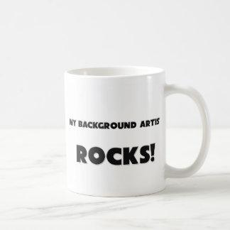 MY Background Artist ROCKS! Mug