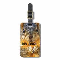 MY BAG!, Squirrel Love_ Bag Tag