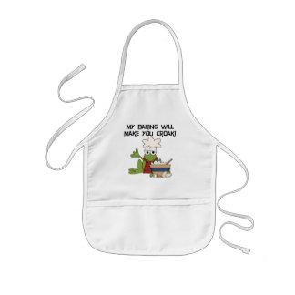 My Baking Will Make You Croak T-shirts and Gifts Kids' Apron