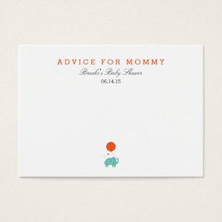 My Balloon   Mommy Advice Cards