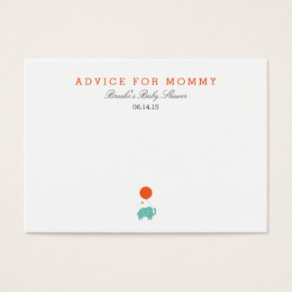Word Of Advice Cards