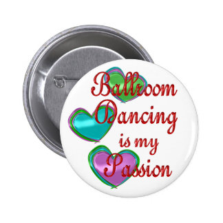 My Ballroom Passion Pinback Buttons