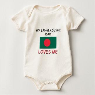 My BANGLADESHI DAD Loves Me Baby Bodysuit