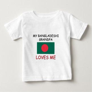 My Bangladeshi Grandpa Loves Me Baby T-Shirt