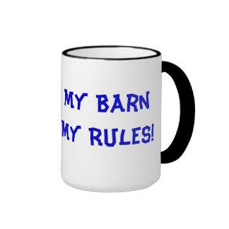 My Barn My Rules! Horse Mug
