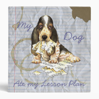 My Basset Ate My Lesson Plan Binder