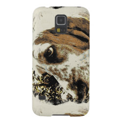 Case-Mate Barely There Samsung Galaxy S5 Case with Basset Hound Phone Cases design