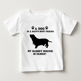 My basset hound family, your dog just a best frien t shirts