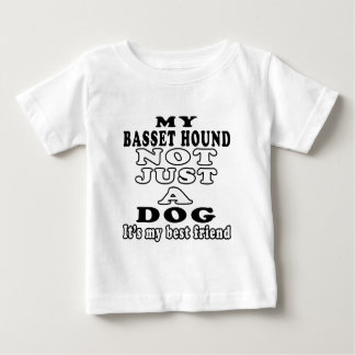 My Basset Hound Not Just A Dog It's My Best Friend T Shirt