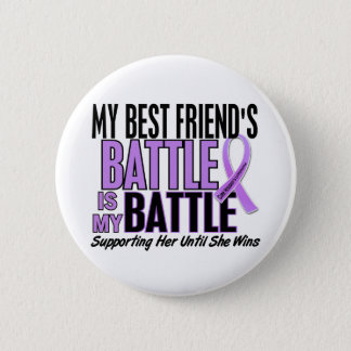 My Battle Too 1 Best Friend Her Hodgkin's Lymphoma Button