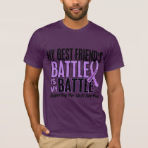 My Battle Too 1 Best Friend Her Hodgkin's Lymphoma T-Shirt