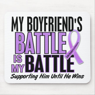 My Battle Too 1 Boyfriend Hodgkin's Lymphoma Mouse Pad