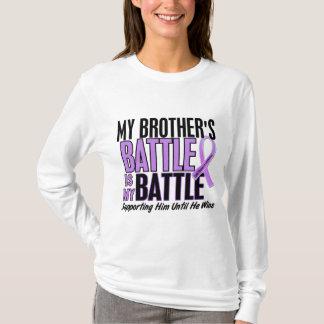 My Battle Too 1 Brother Hodgkin's Lymphoma T-Shirt
