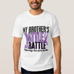 My Battle Too 1 Brother Hodgkin's Lymphoma Tshirt