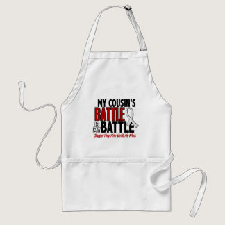My Battle Too 1 Cousin (He) BONE / LUNG CANCER Adult Apron