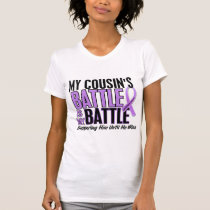 My Battle Too 1 Cousin (Male) Hodgkin's Lymphoma T-Shirt