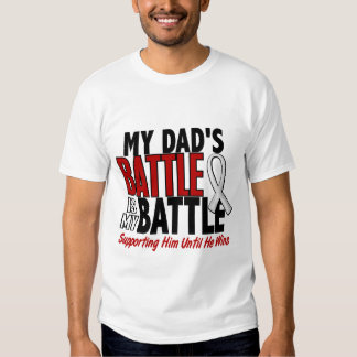 My Battle Too 1 Dad BONE / LUNG CANCER Dresses