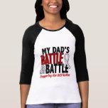 My Battle Too 1 Dad BONE / LUNG CANCER Shirts