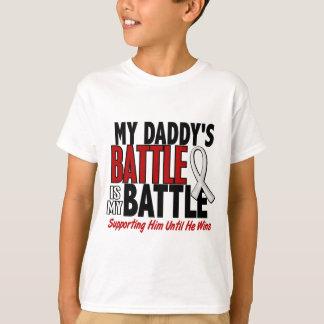 My Battle Too 1 Daddy BONE / LUNG CANCER T-Shirt