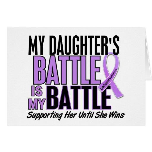 My Battle Too 1 Daughter Hodgkin's Lymphoma Cards