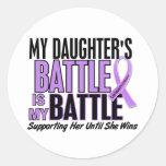 My Battle Too 1 Daughter Hodgkin's Lymphoma Stickers