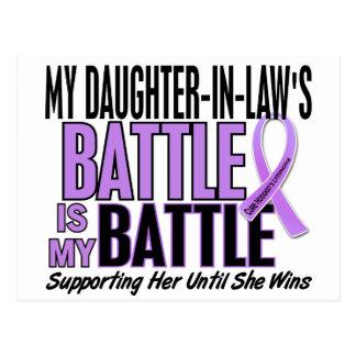 My Battle Too 1 Daughter-In-Law Hodgkin's Lymphoma Postcard