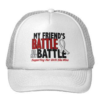 My Battle Too 1 Friend (SHE) BONE / LUNG CANCER Trucker Hat
